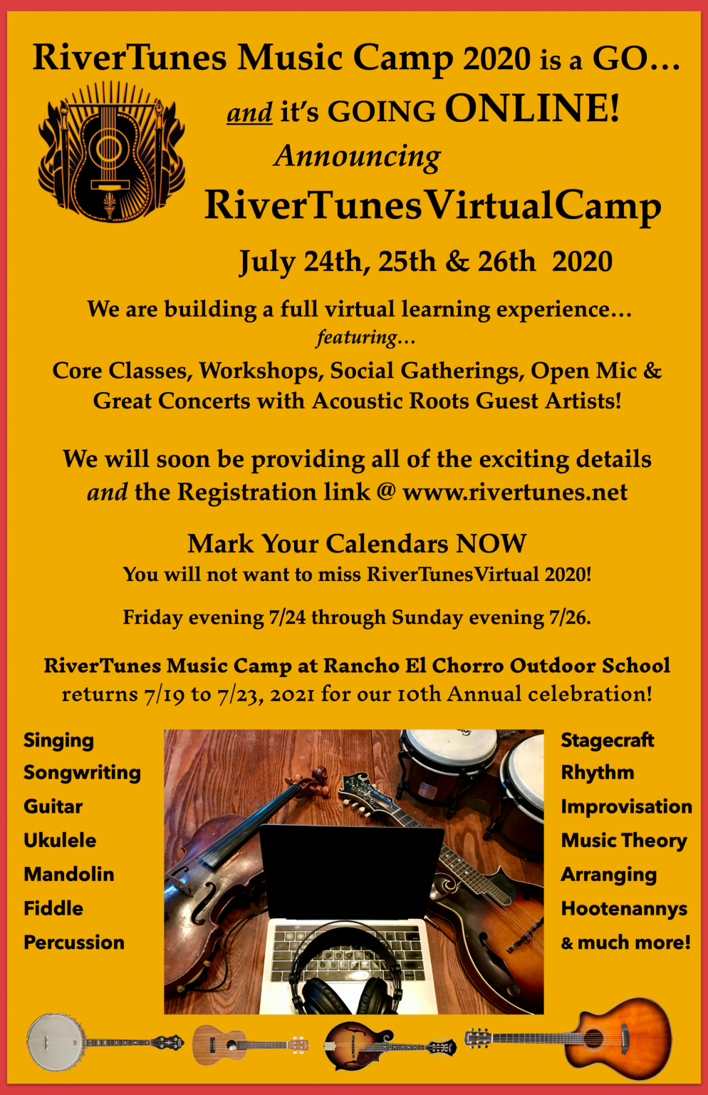 RTV Camp flyer